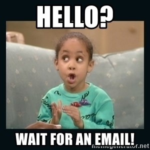 Raven Symone - hello? wait for an Email!