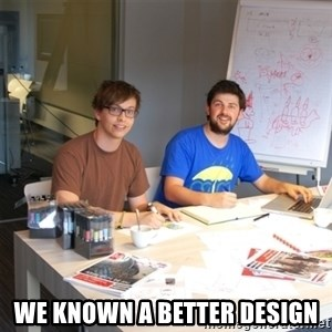 Naive Junior Creatives -  We known a better design