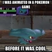 MISDREAVUS - i was animated in a pokemon game before it was cool.