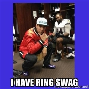 PAY FLACCO -  I have ring swaG