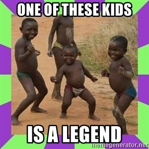 african kids dancing - ONE OF THESE KIDS IS A LEGEND
