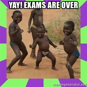 african kids dancing - YAY! Exams are over