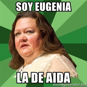 Dumb Whore Gina Rinehart - SOY EUGENIA LA DE AIDA