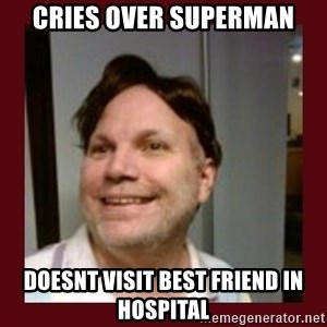 Free Speech Whatley - Cries over Superman Doesnt Visit Best Friend IN Hospital