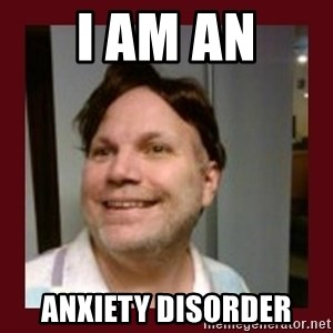 Free Speech Whatley - i am an anxiety disorder