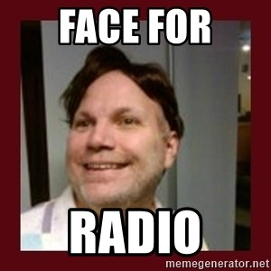 Free Speech Whatley - face for radio