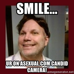 Free Speech Whatley - Smile... Ur on asexual.com candid camera!