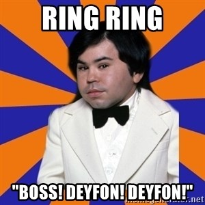 "Tattoo fantasy island - ring ring ""Boss! deyfon! deyfon!"""