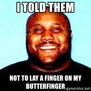 KOPKILLER - I told them Not to laY a finger on my butterfinger
