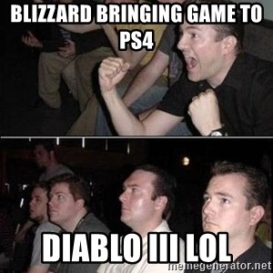 Reaction Guys - blizzard bringing game to ps4  diablo iii lol