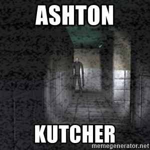 Slender game - ASHTON KUTCHER