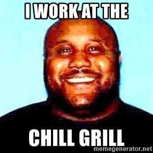 KOPKILLER - i work at the chill grill