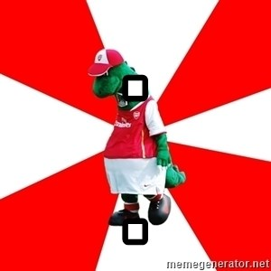 Arsenal Dinosaur - . .