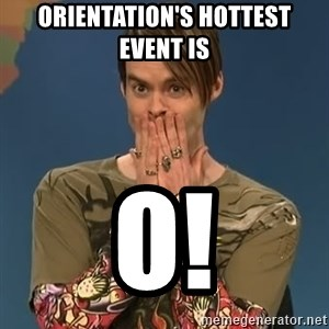 SNL Stefon - orientation's hottest event is O!