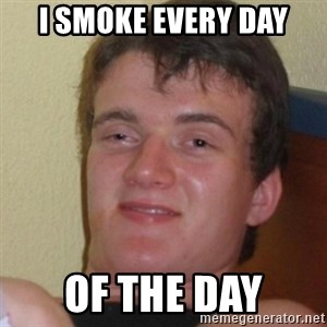 Stoner Stanley - I smoke every day of the day