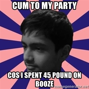 Los Moustachos - I would love to become X - CUM TO MY PARTY COS I SPENT 45 POUND ON BOOZE