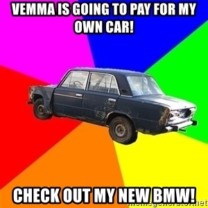 AdviceCar - Vemma is going to pay for my own car! check out my new bmw!