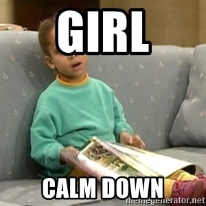 Olivia Cosby Show - Girl Calm down