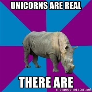 Recovery Rhino - UNICORNS ARE REAL THERE ARE