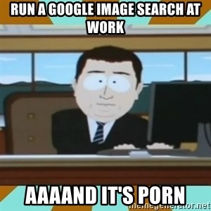 And it's gone - Run a google image search at work aaaand it's porn