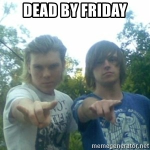 god of punk rock - Dead by friday