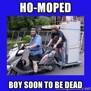 Motorfezzie - Ho-Moped Boy Soon To Be Dead