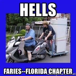 Motorfezzie - hells faries--florida chapter