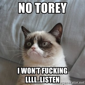 moody cat - No torey i won't fucking llll..listen