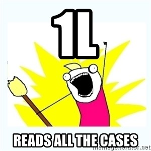 All the things - 1L Reads all the cases