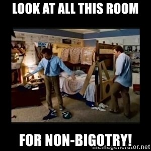 stepbrothers - look at all this room for non-bigotry!