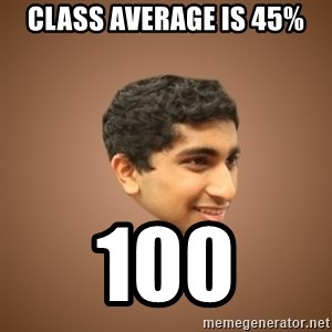 Handsome Indian Man - Class average is 45% 100