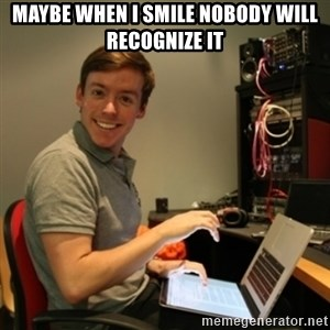Ridiculously Photogenic Journalist - MAYBE WHEN I SMILE NOBODY WILL RECOGNIZE IT