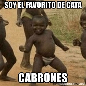Little Black Kid - soy el favorito de cata cabrones