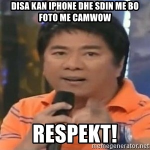 willie revillame you dont do that to me - disa kan iphone dhe sdin me bo foto me camwow respekt!