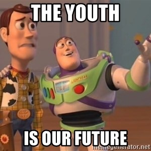 buzz light - the youth is our future