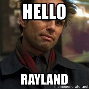 Boyd Crowder - hello  rayland