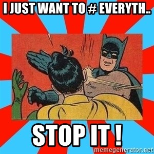 Batman Bitchslap - I just want to # everyth.. STOP IT !