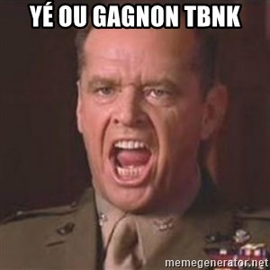 Jack Nicholson - You can't handle the truth! - Yé ou Gagnon TbnK