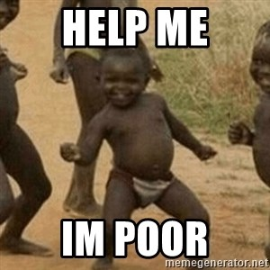 Little Black Kid - Help me im poor