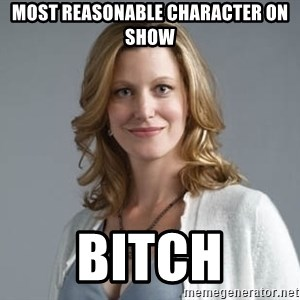 Skyler White - most reasonable character on show bitch