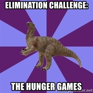 IBS Iguanadon - elimination challenge: the hunger games
