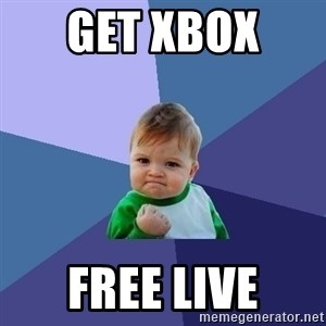 Success Kid - Get xbox  free live
