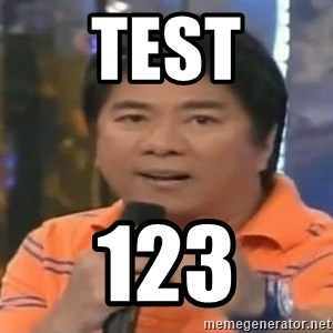 willie revillame you dont do that to me - test 123