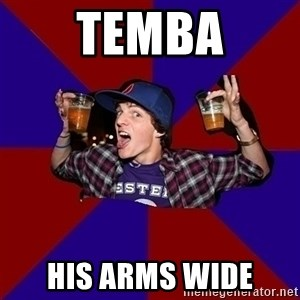 Sunny Student - temba his arms wide