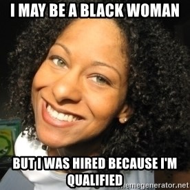 Adria Richards - i may be a black woman but i was hired because i'm qualified