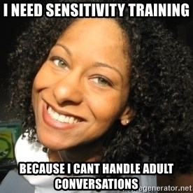 Adria Richards - i need sensitivity training because i cant handle adult conversations