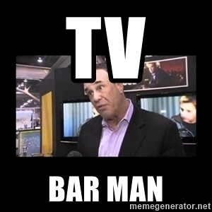 John Taffer - TV BAR MAN