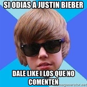 Just Another Justin Bieber - si odias a justin bieber dale like i los que no comenten