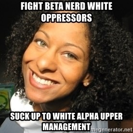 Adria Richards - Fight beta nerd white oppressors suck up to white alpha upper management