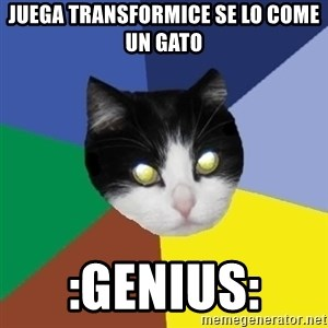 Winnipeg Cat - Juega transformice se lo come un gato :Genius: